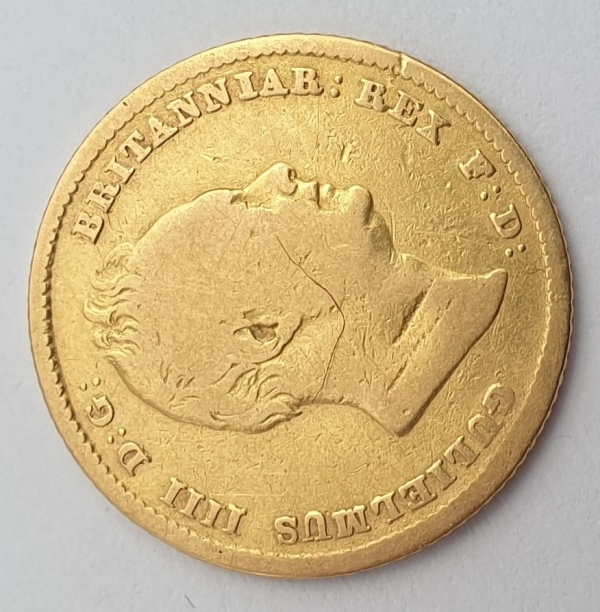 England - Half Sovereign 1835, William IV