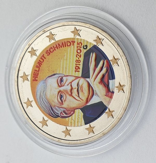 Germany - 2 Euro 2015 G, Color, UNC