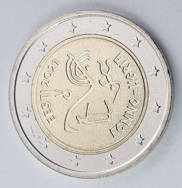 Estonia - 2 Euro 2021 A, UNC