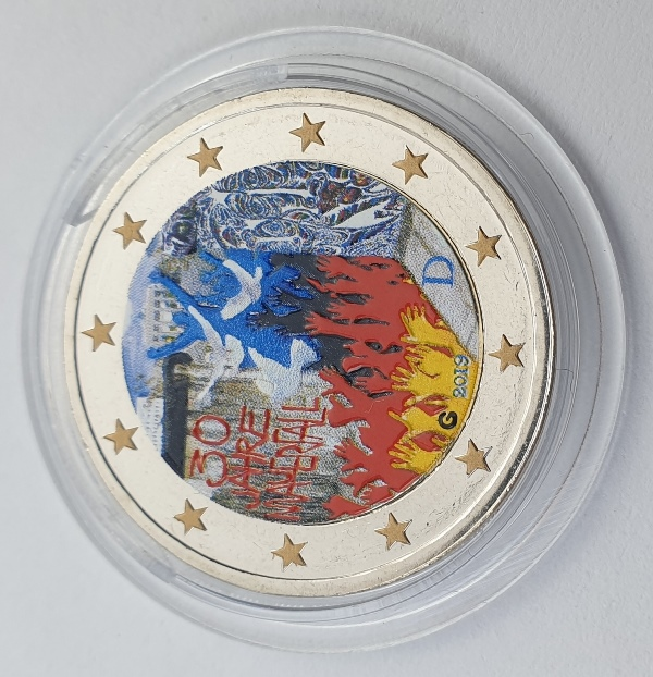 Germany - 2 Euro 2019 G, Color, UNC