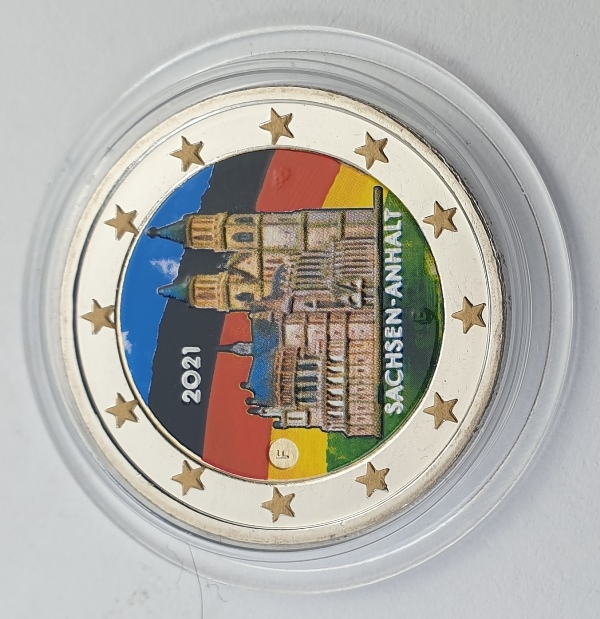 Germany - 2 Euro 2021 F, Color, UNC