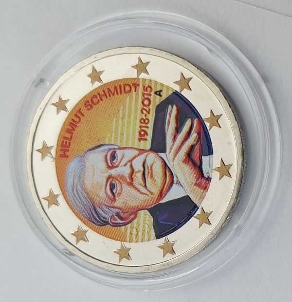 Germany - 2 Euro 2015 A, Color, UNC