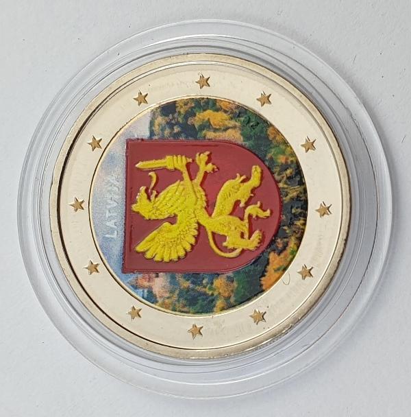 Latvia - 2 Euro 2017, Color, UNC