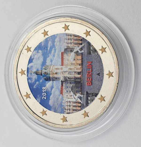 Germany - 2 Euro 2018 A, Color, UNC