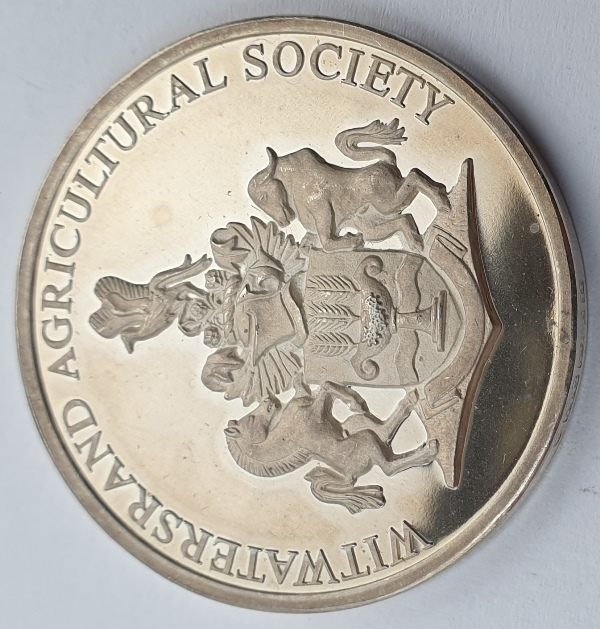 Greece - Medal - Witwatersrand Agricultural Society (Awarded To Republic Of Greece For Display Of National Products Rand Show 1987)