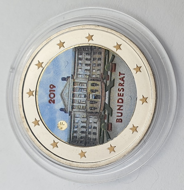 Germany - 2 Euro 2019 F, Color, UNC
