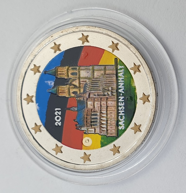 Germany - 2 Euro 2021 G, Color, UNC