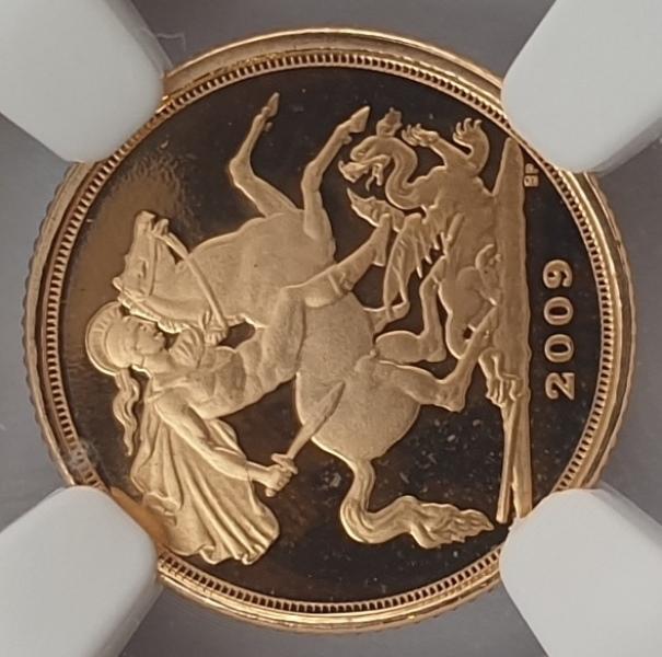 England - Quarter Sovereign 2009 (PF 70 ULTRA CAMEO), G. Britain