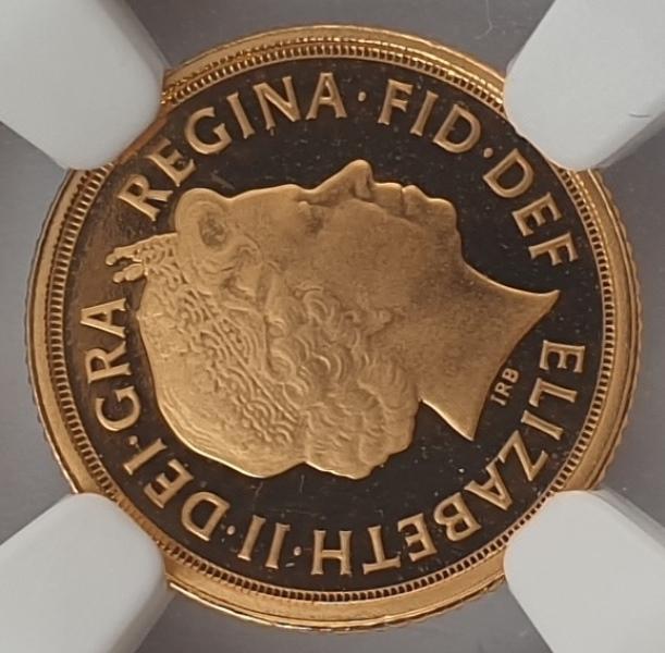England - Quarter Sovereign 2010 (PF 70 ULTRA CAMEO), G. Britain