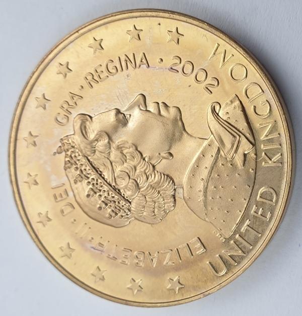 England - Medal - 5 E 2002, Elizabeth II