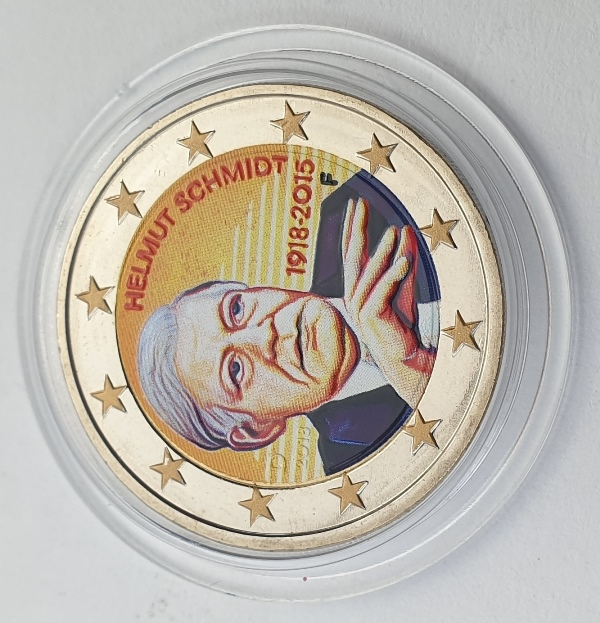 Germany - 2 Euro 2015 F, Color, UNC