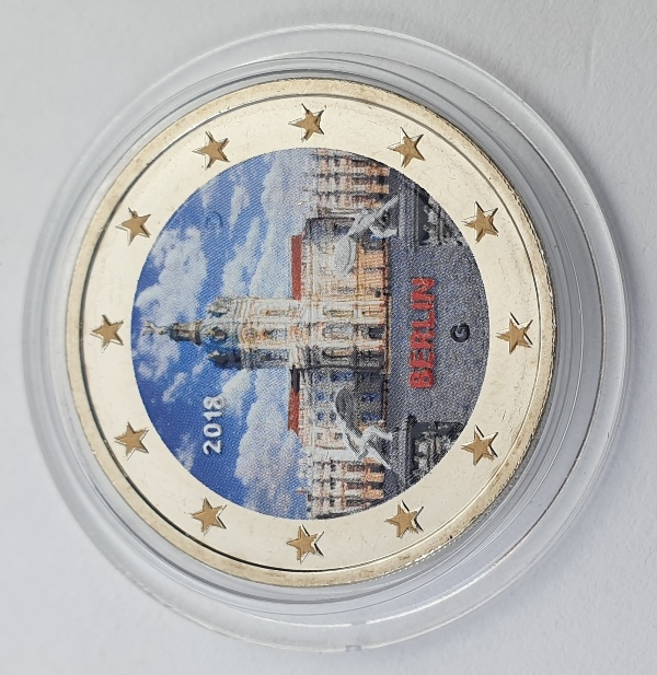 Germany - 2 Euro 2018 G, Color, UNC