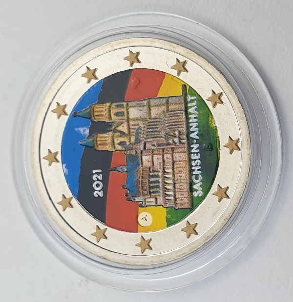 Germany - 2 Euro 2021 A, Color, UNC