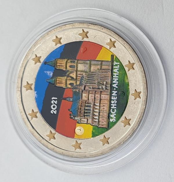 Germany - 2 Euro 2021 J, Color, UNC