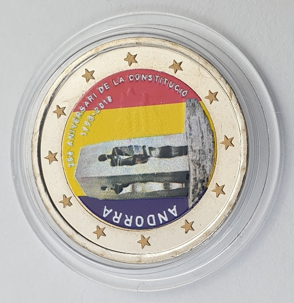 Andora - 2 Euro 2018, Color, UNC