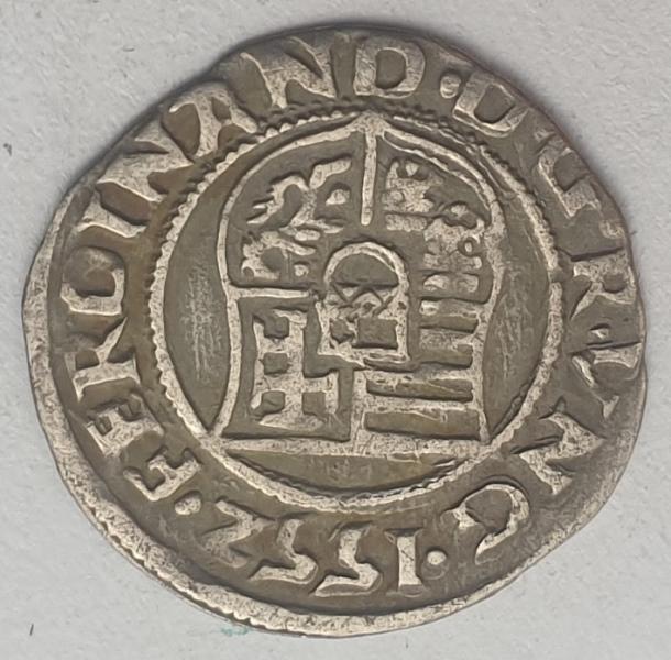 Hungary - 1 Denar 1552, I. Ferdinand, Silver