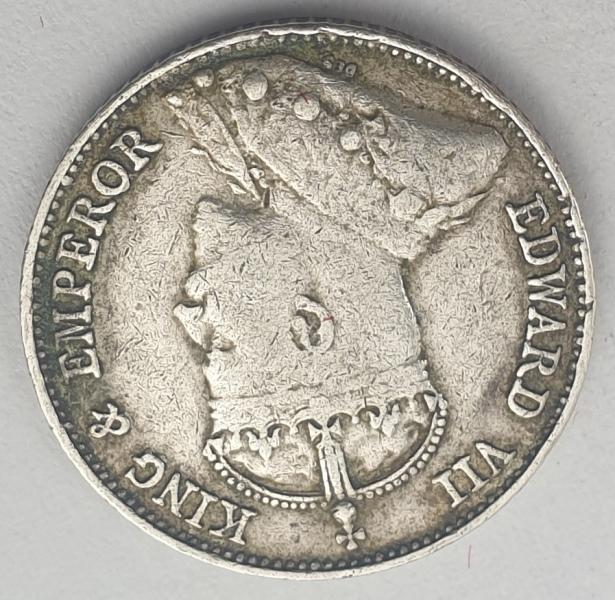 Hong Kong - 10 Cents 1902, Edward VII, Silver
