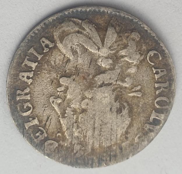 England - 4 Pence 1680, Charles II, Silver