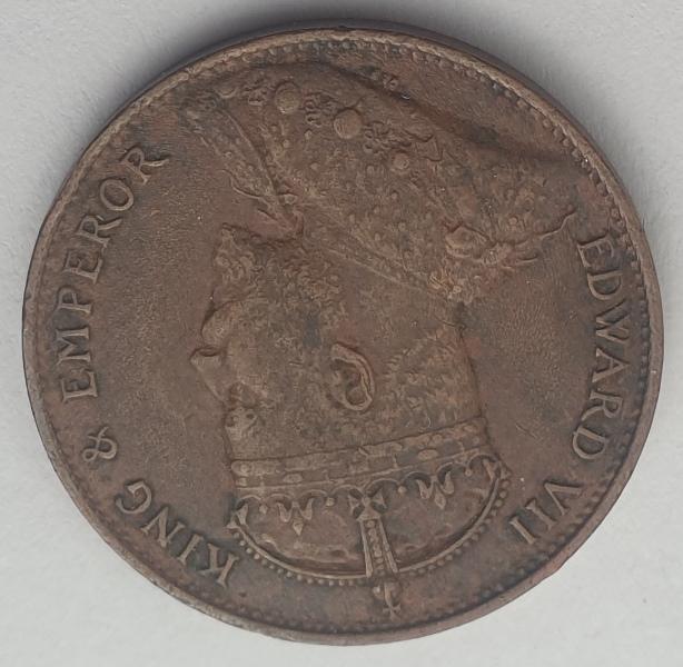 Sri Lanka - 1 Cent 1905, Edward VII