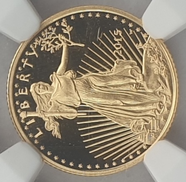 USA - 5 Dollars 2015 W Eagle (PF 70 ULTRA CAMEO)