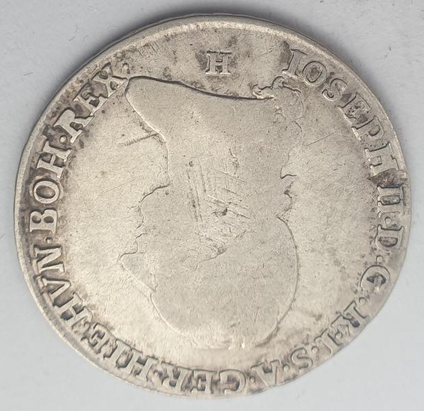 Austrian Netherlands - Quarter Kronenthaler 1788H, Joseph II, Silver