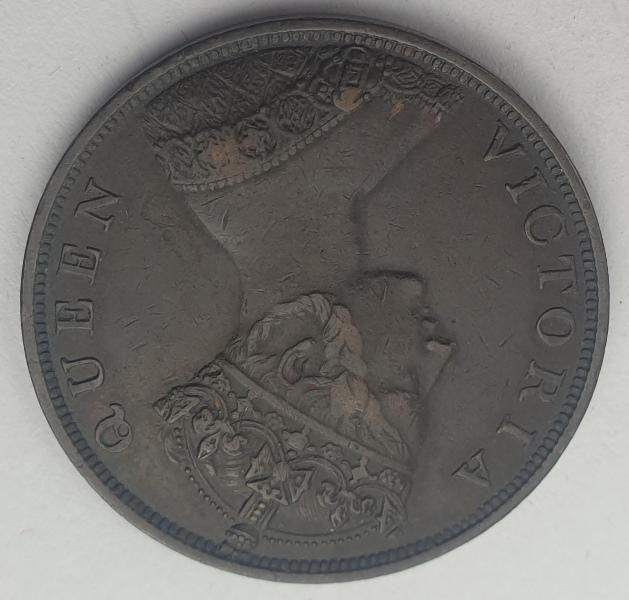 Hong Kong - 1 Cent 1863, Victoria