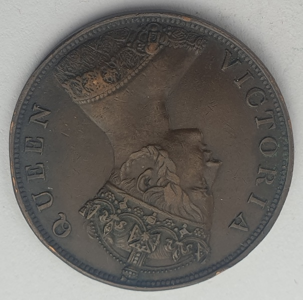 Hong Kong - 1 Cent 1865, Victoria