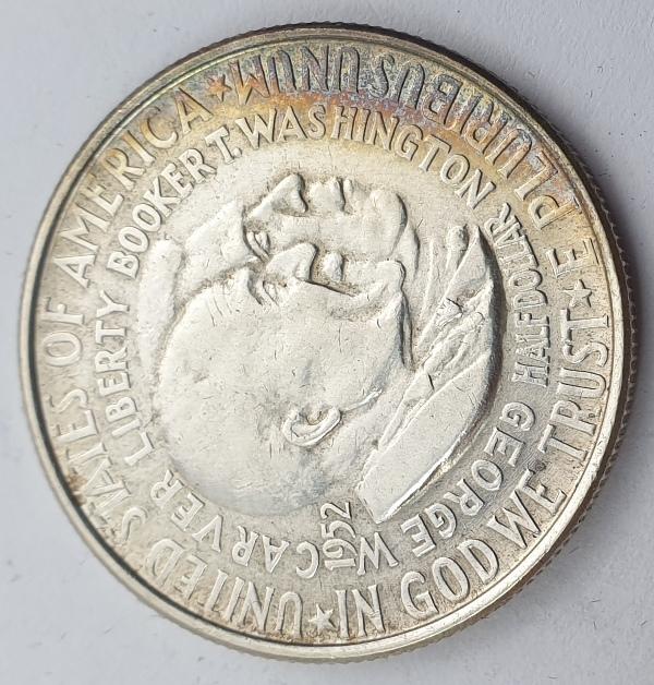 USA - Half Dollar 1952, Washington-Carver, Silver
