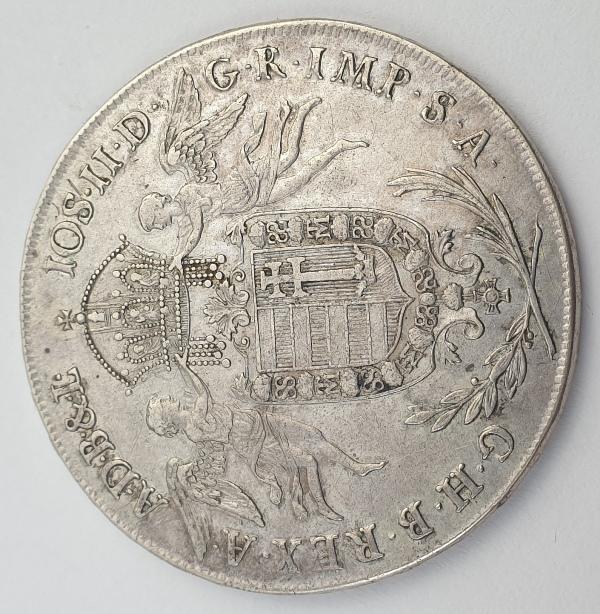 Hungary - 1 Taller 1786, II. Jozsef, Silver