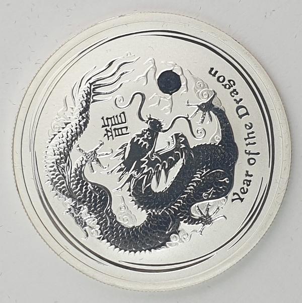 Australia - Half OZ 2012 - Year of the Dragon, Silver 999*