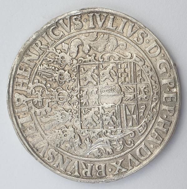 Germany - 1 Thaler 1606, Heinrich Julius, Silver