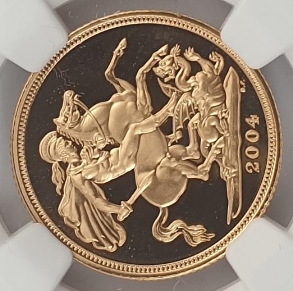 England - 1 Sovereign 2004 (PF 69 ULTRA CAMEO)