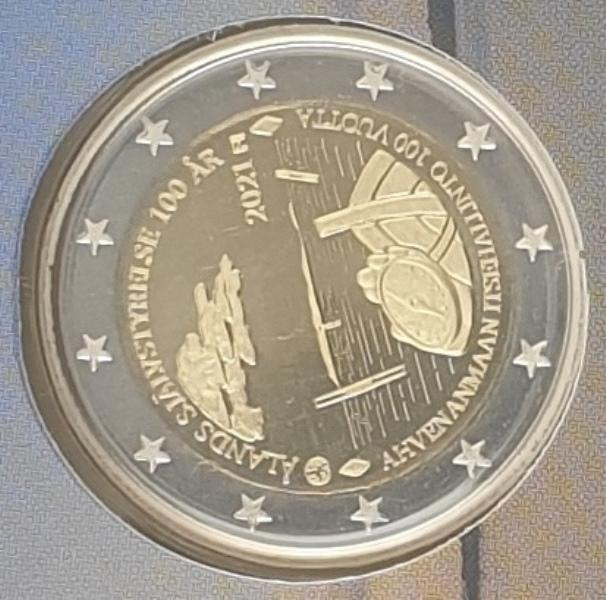 Finland - 2 Euro 2021, Aland Autonomy 100 Years PROOF