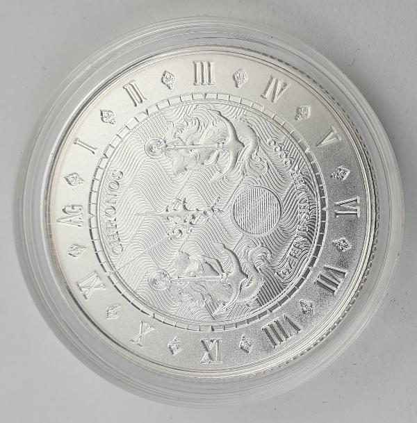 Tokelau - 1 OZ 2021 - Chronos, Silver 999*