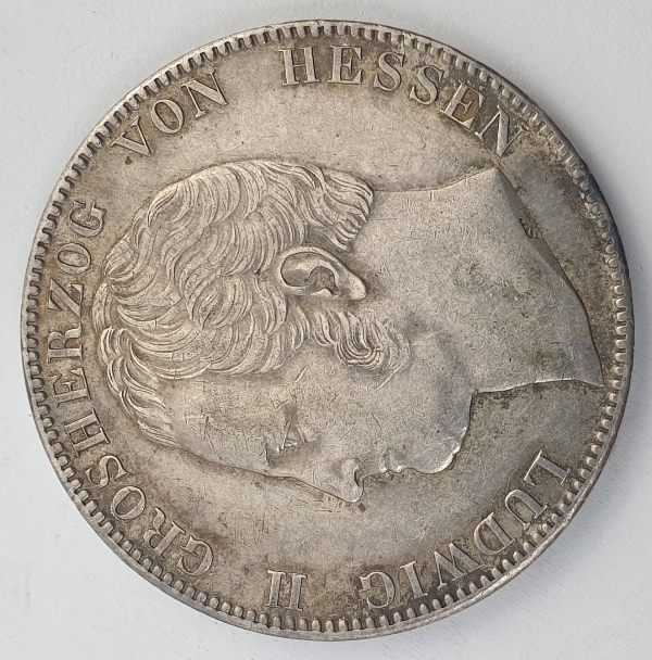 Germany - 2 Thaler 1840, Ludwig II, Silver