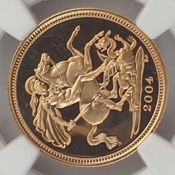 England - Half Sovereign 2004 (PF 70 ULTRA CAMEO)