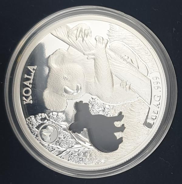 Solomon Islands - 1 OZ 2019 - Elizabeth II, Koala, Silver 999*