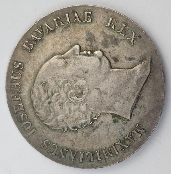 Germany - 1 Kronenthaler 1818, Maximilian I Joseph, Silver