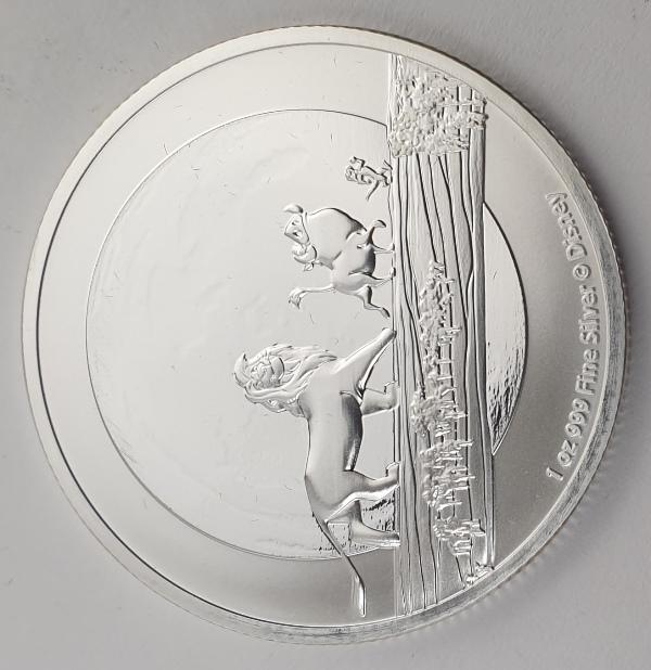 Niue - 1 OZ 2021 - Elizabeth II, Hakuna Matata, Silver 999*
