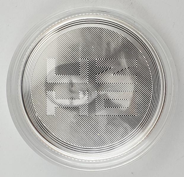 Tokelau - 1 OZ 2021 - Icon, Mona Lisa, Silver 999*