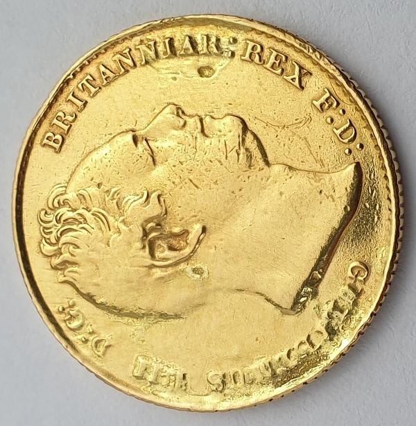 England - 1 Sovereign 1832, William IV