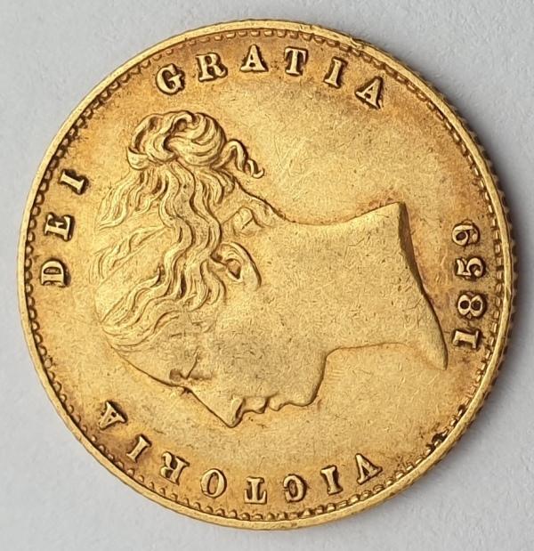 England - Half Sovereign 1859, Victoria