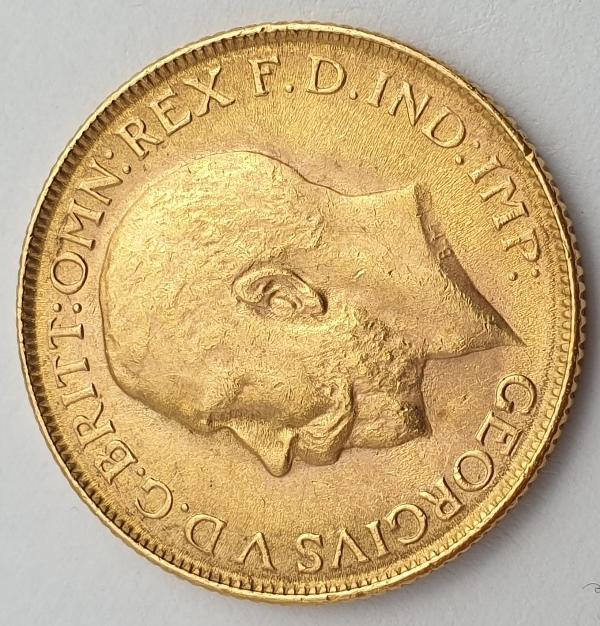 England - 1 Sovereign 1918, George V