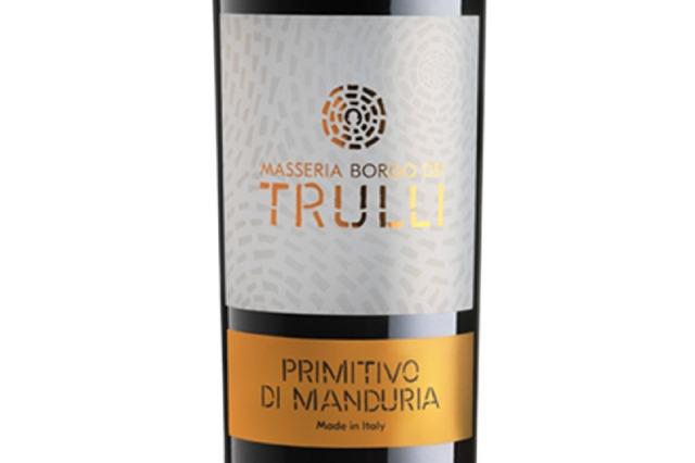 Primitivo Di Manduria DOP, Masseria Borgo Dei Trulli